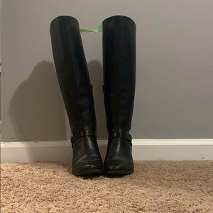 Anna Klein Black Knee high boots - 8